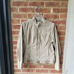 Tan corduroy jacket